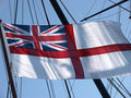White Ensign flag Royalty Free Stock Photos