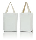 White fabric bag Royalty Free Stock Photo