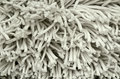White fabric mop texture close up photo of Stock Images