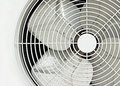 White fan close up old Royalty Free Stock Images