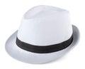 White Fedora Royalty Free Stock Photo