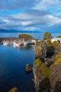 White fishing boat Royalty Free Stock Photo