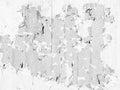 White Flaky Paint on Concrete Texture Royalty Free Stock Photo