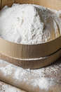 White flour Stock Images