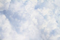 White fluffy clouds full size close up background Royalty Free Stock Photography