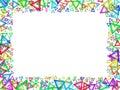White framework Royalty Free Stock Image