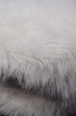 White furry fabric full frame take of some cozy Royalty Free Stock Photos