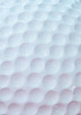White golf ball Stock Photo