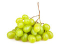 White grapes on background Stock Photos