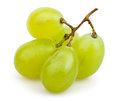 White grapes cluster small on background Royalty Free Stock Photos