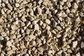 White gravel Royalty Free Stock Photo