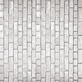 White gray brick wall texture old as background Stock Image