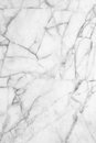 White gray marble texture, detailed structure of marble in natural patterned for background and design. Royalty Free Stock Photo