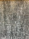 White gray wavy lines background pattern texture on the cement wall surface, detail backdrop design closeup abstract Royalty Free Stock Photo