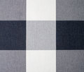 White grey and black gingham tablecloth nine square pattern background Royalty Free Stock Photo