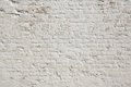 White grunge brick wall background Royalty Free Stock Photo
