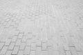 White harmonic floor tiles