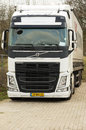 White haulage truck Royalty Free Stock Photo