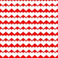White hearts on red background repetition cards backgrounds