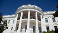 The White House detail Royalty Free Stock Photo