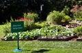 White House Kitchen Garden Royalty Free Stock Photo