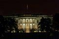 White House at Night. Washington DC Royalty Free Stock Photo