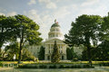 White house view of city hall sacramento california Royalty Free Stock Photo