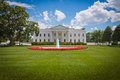 The white house in washington d c residence of president of united states of america Stock Photos