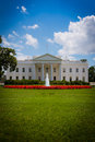 The white house in washington d c residence of president of united states of america Royalty Free Stock Images