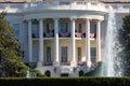 The White House in Washington DC Royalty Free Stock Photo