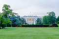 The white house in washington dc at dusk Royalty Free Stock Photography