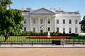 The White House in Washington DC Royalty Free Stock Photo