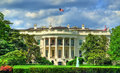 The White House in Washington, DC Royalty Free Stock Photo