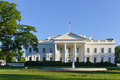 The white house washington dc united states with a clear sky Royalty Free Stock Photo