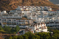 White houses in Malaga Royalty Free Stock Photo