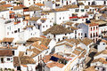 White houses of setenil spain Royalty Free Stock Photos