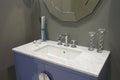 White inset washbasin Royalty Free Stock Photo