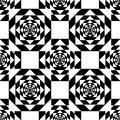 White Kaleidoscope Mirage On B...