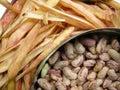 White Kidney Beans Six Royalty Free Stock Photo