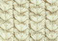 White knitted background cloth for Royalty Free Stock Image