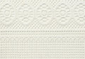 White lace with abstract pattern Royalty Free Stock Photo