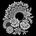 White Lace. Clip Art.