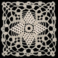 White lace pattern Stock Photography
