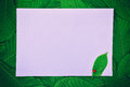 White large empty paper sheet Royalty Free Stock Photo
