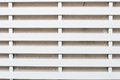 White lath wall a in a house Stock Photo