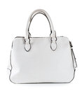 White leather bag Royalty Free Stock Photo