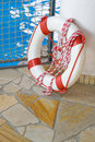 White life buoy Royalty Free Stock Image
