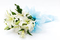 White lily bouquet Royalty Free Stock Photo