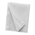 White linen napkin Royalty Free Stock Photo