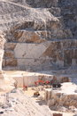 White marble quarry Royalty Free Stock Image